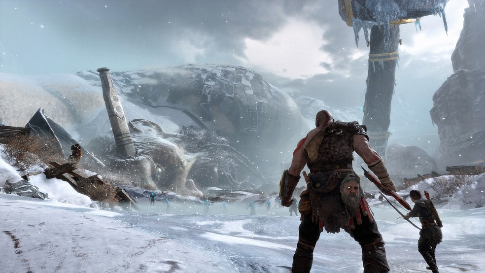 God of War é o mais recente game da saga — Foto: Divulgação/Playstation