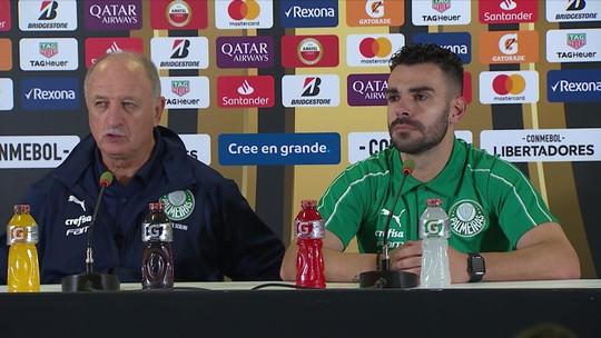Felipão e Bruno Henrique exaltam a verdadeira torcida do Palmeiras