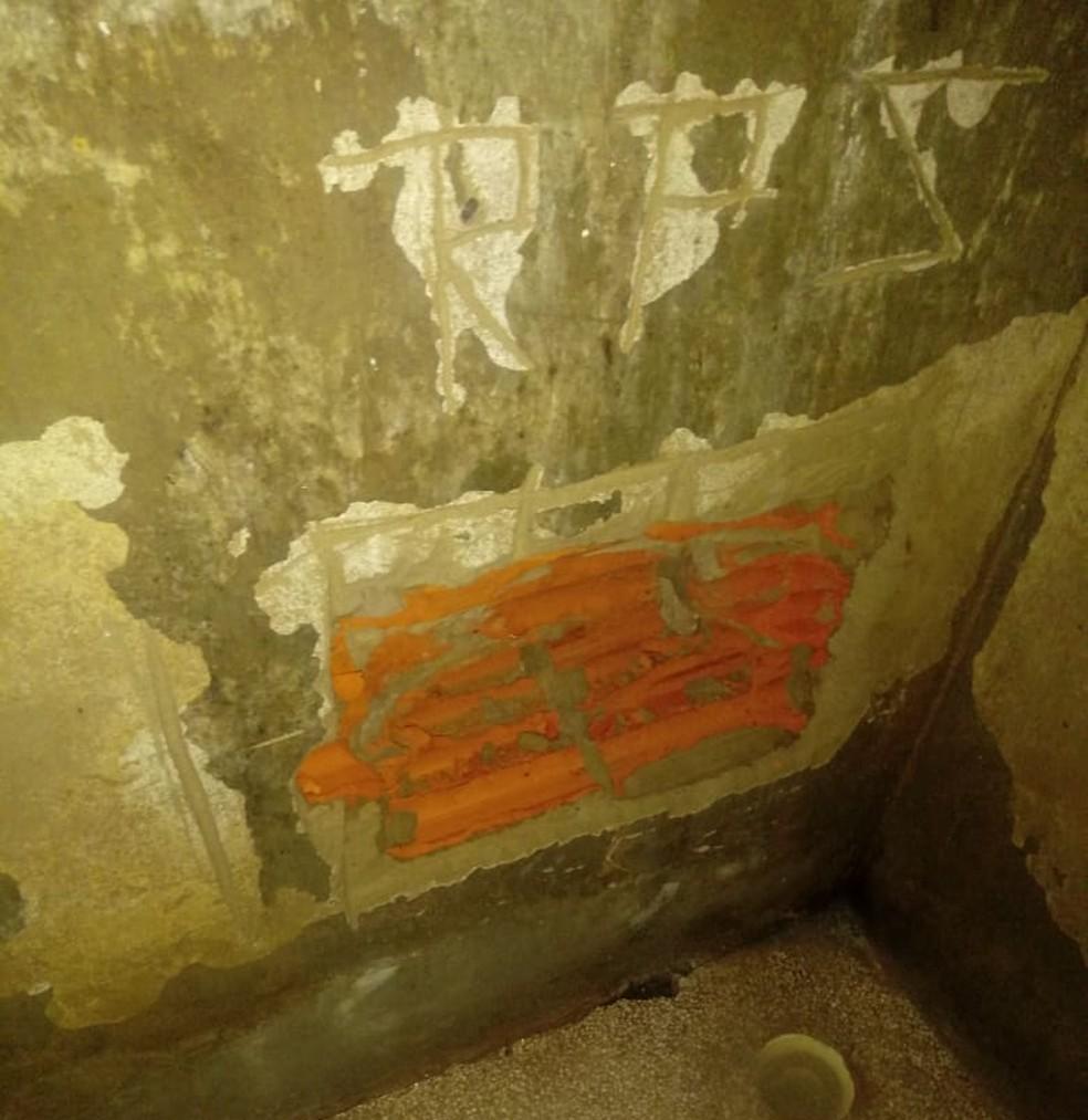 Presos faziam buraco em cela para tentar fuga de Presídio em Rio Branco — Foto: Arquivo/Iapen