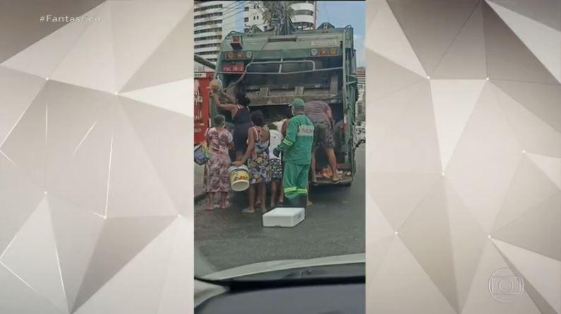 Face cruel da fome: mulheres relatam rotina de buscar comida em caminhão de lixo em Fortaleza