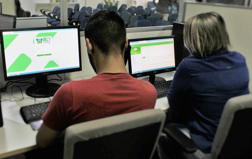 Plataforma para acompanhar os empréstimos consignados aos servidores estaduais do RN — Foto: Divulgação