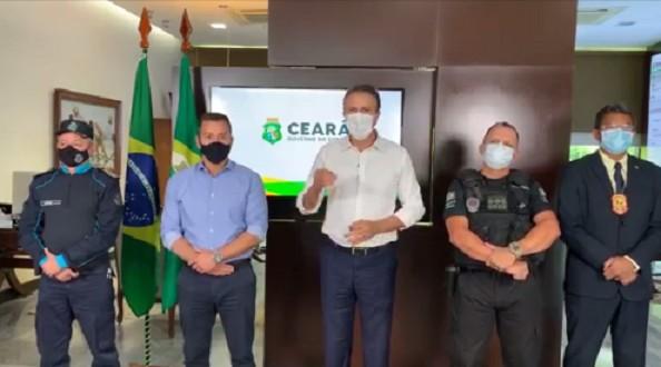 Camilo anuncia investimento de R$ 120 milhões por ano na segurança