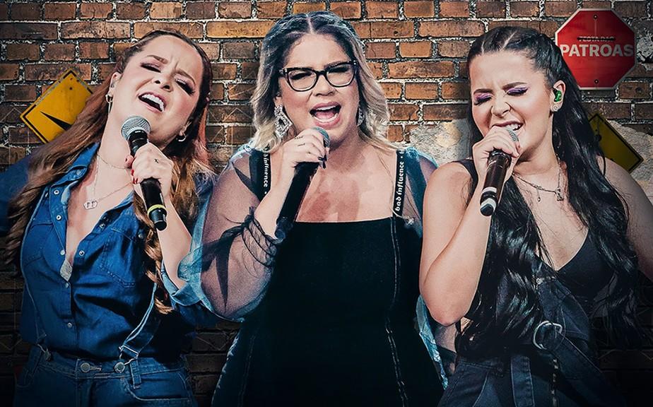 Marília Mendonça traz 'Assunto delicado' no quarto EP de série com Maiara & Maraisa