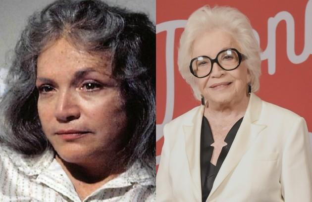 Nathalia Timberg, a Gladys de 'A dona do pedaço', viveu Cecília, mãe de André. A personagem foi internada num sanatório (Foto: TV Globo)