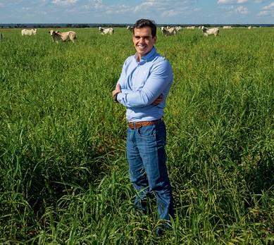 Guilherme Alves da Silva, gerente da Fazenda Roncador (MT) (Foto: Fernando Martinho)