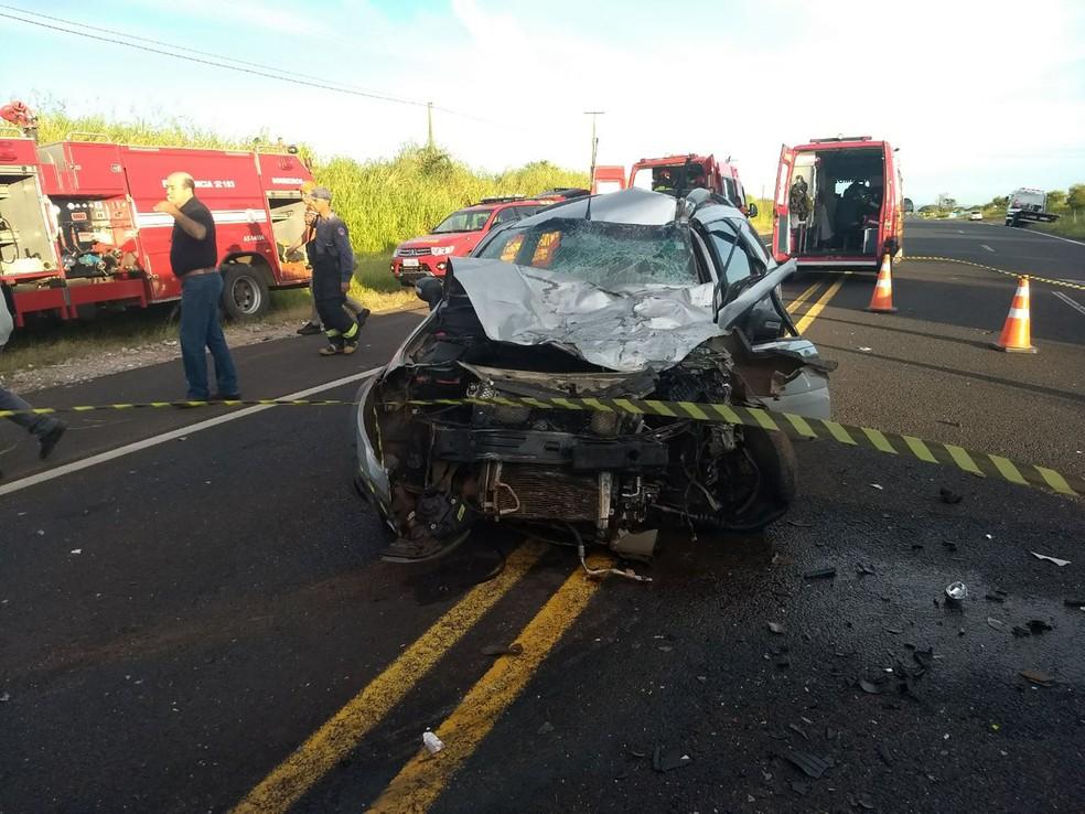 0391005ca Acidente foi registrado em Martinópolis (Foto  Corpo de Bombeiros Cedida)