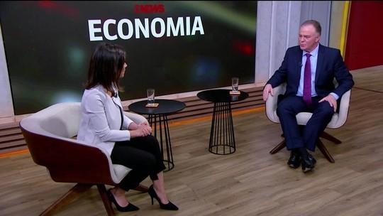 Julia Duailibi entrevista o governador do ES, Renato Casagrande, no GloboNews Economia