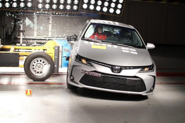 Toyota Corolla Latin NCap (Foto: Divulgação)
