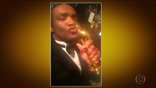 Terry Bryant, suspeito de furtar Oscar de Frances McDormand, já posou com Beyoncé, Tarantino e troféus