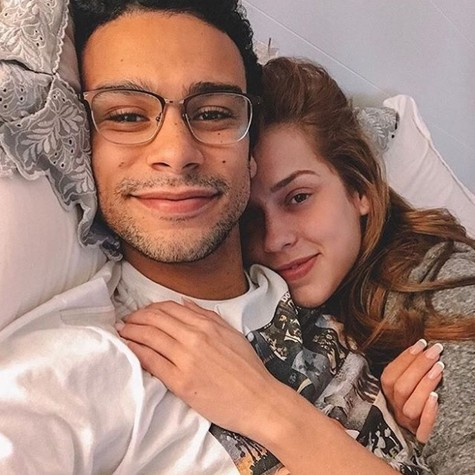 Sergio Malheiros e Sophia Abrahão (Foto: Reprodução / Instagram)