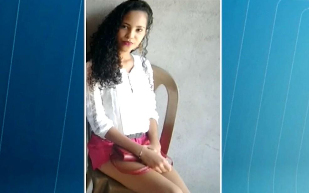 Jovem de 16 anos foi encontrada morta em Feira de Santana, na Bahia (Foto: Reprodução/TV Subaé)
