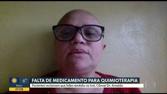 Falta de remédio em hospital de SP interrompe quimioterapia de pacientes com câncer