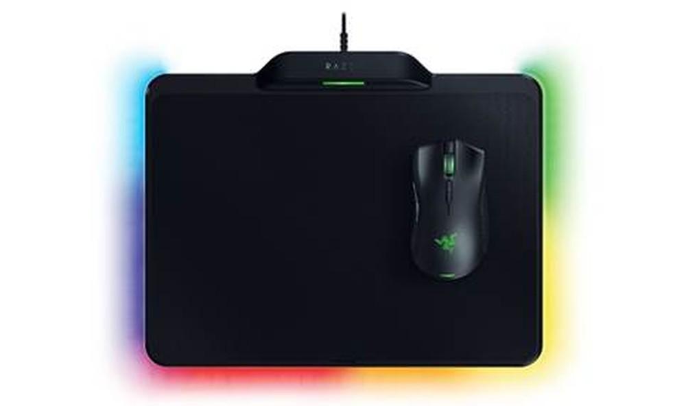 Mouse sem fio e sem bateria da Razer, que é alimentado com energia gerada pelo mousepad. (Foto: Divulgação/Razer)
