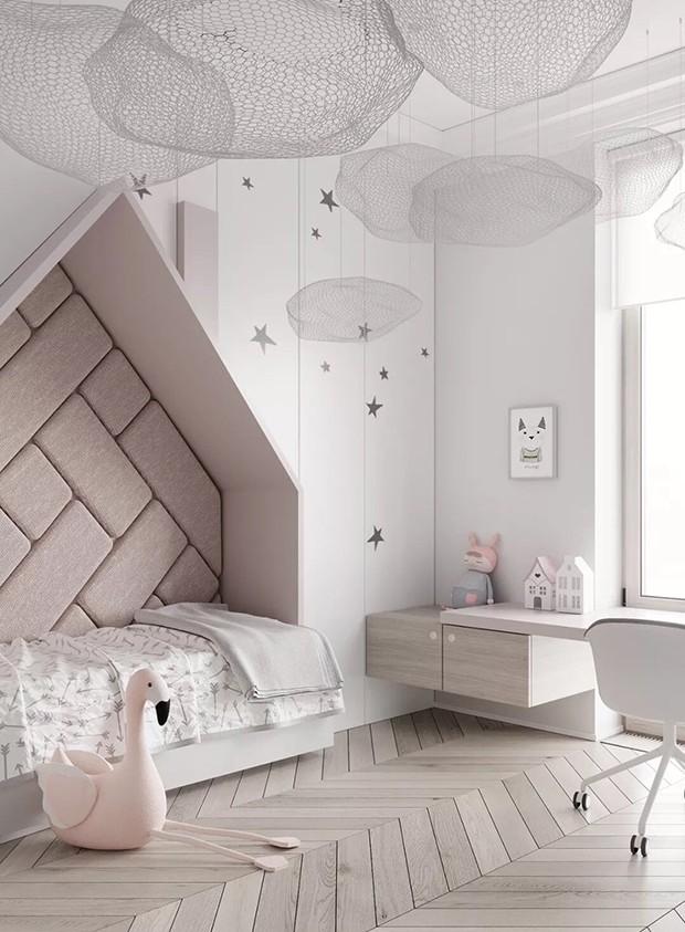 Décor do dia: cinza e branco no quarto infantil (Foto: Tolko Interiors/Divulgação)