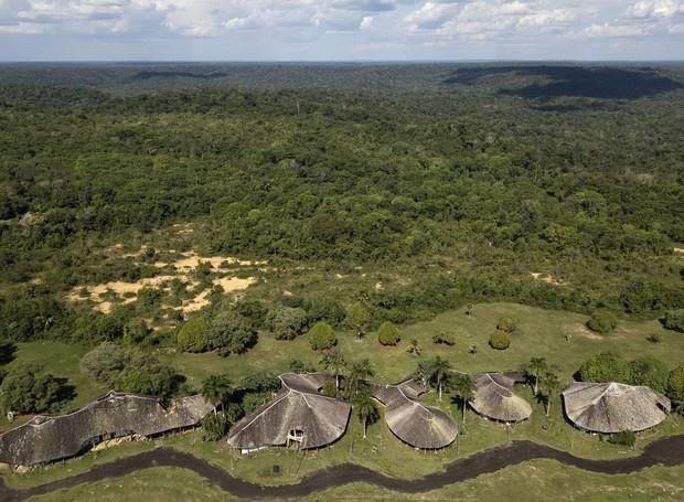Centro de Proteção Ambiental no Amazonas, por Severiano Porto (Foto: Leonardo Finotti/ Acervo CA)