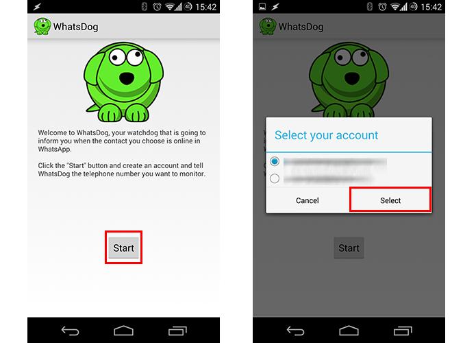 Ative o aplicativo e esoclha uma conta do Google para atrelar (Foto: Reprodução/Paulo Alves)