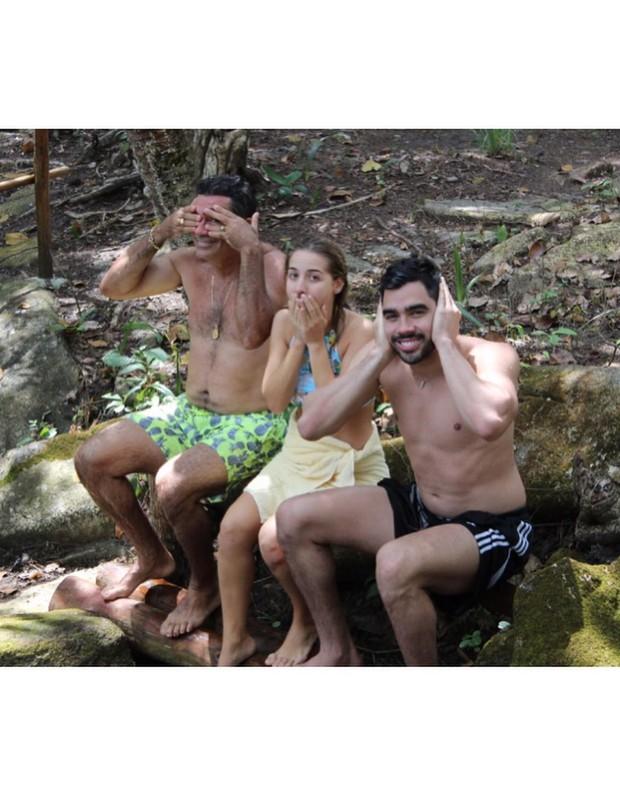 Cizinato Diniz, Mylena Diniz e Gabriel DinizGabriel Diniz (Foto: Reprodução/Instagram)