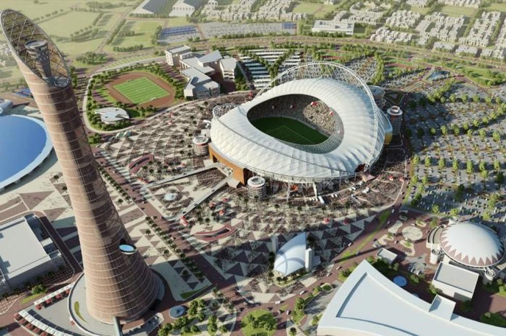 Estdio Internacional Khalifa  Foto DivulgaoCatar 2022