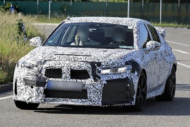 Honda Civic Type R Flagra Segredo (Foto: Automedia)