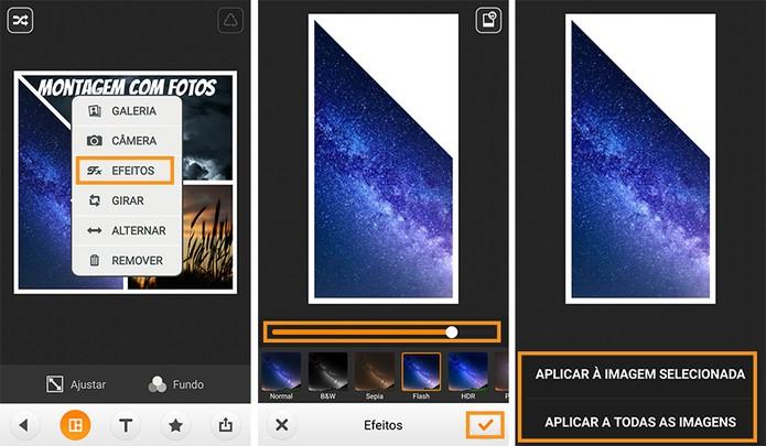 Aplique filtros em suas imagens (Foto: Reprodução/Barbara Mannara)