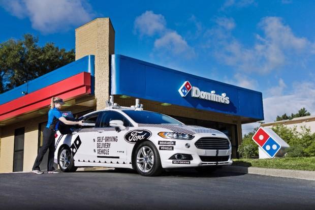 Carro autônomo da Ford deve começar a circular a partir de 2021 (Foto: Divulgação/Ford)
