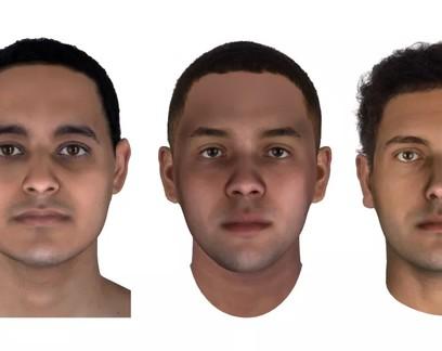 DNA extraído de múmias é usado para recriar rostos de 3 homens egípcios