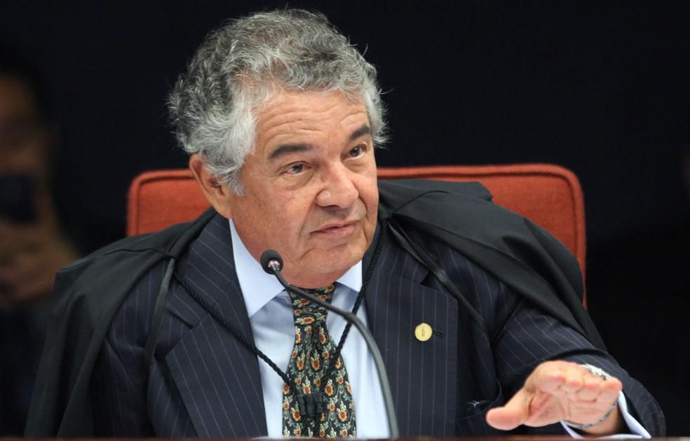 O ministro Marco Aurélio Mello, do STF — Foto: Nelson Jr./STF