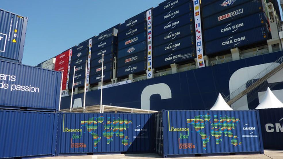 Em 2018, empresa anunciou ao porto de Natal recorde mundial em transporte de contêineres refrigerados partindo da capital potiguar — Foto: Codern/Divulgação