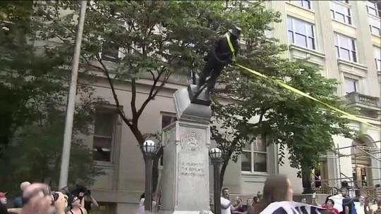 Trump acirra polêmica nos EUA ao lamentar retirada de estátuas de confederados