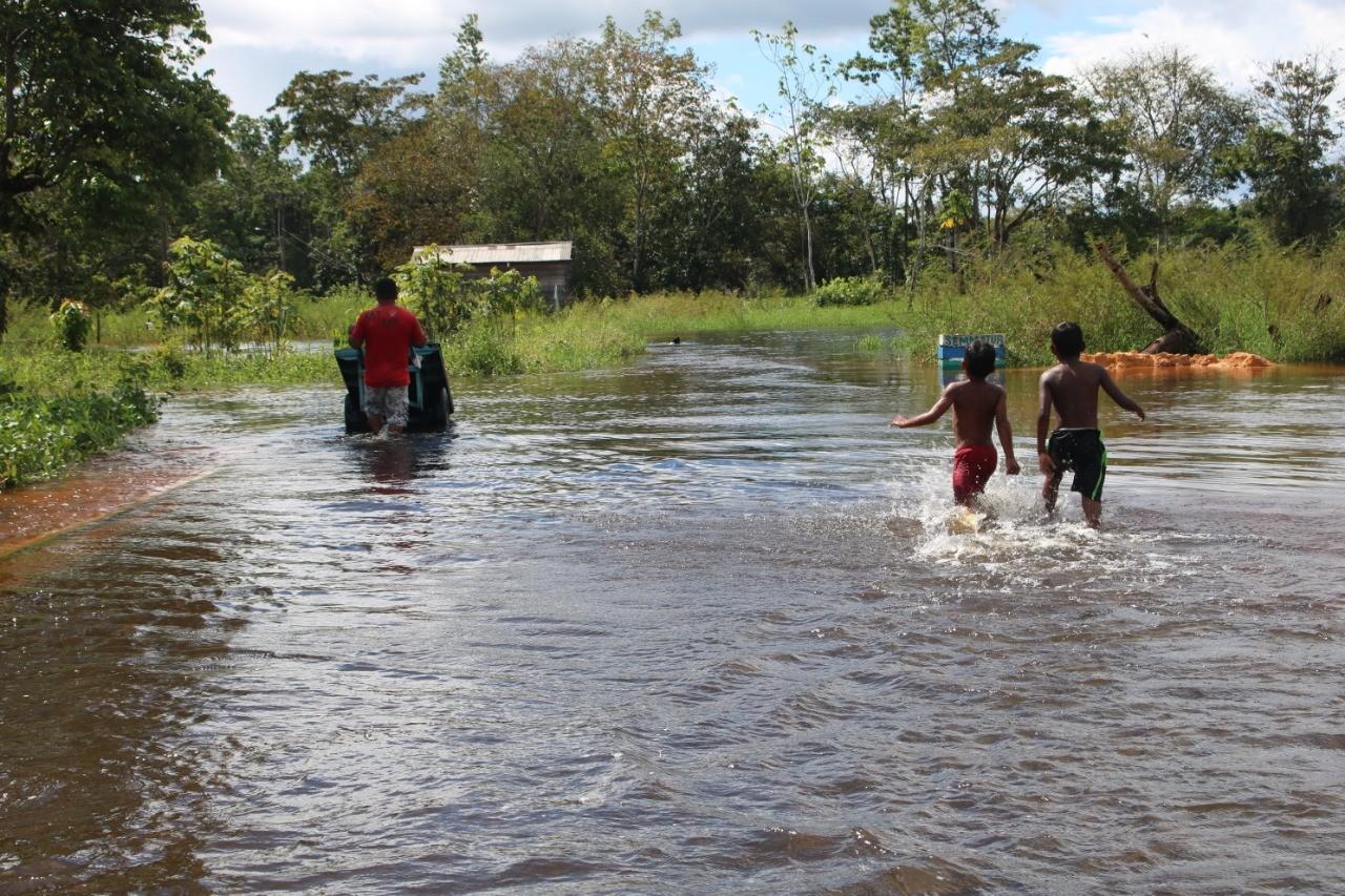 Cheia do Rio Jari alaga casas no interior do AP; famílias são removidas para abrigos - Noticias