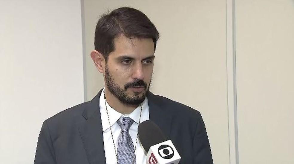 Leonardo de Castro, coordenador da Cecor, diz que operação irá a outros estados — Foto: Reprodução/TV Globo