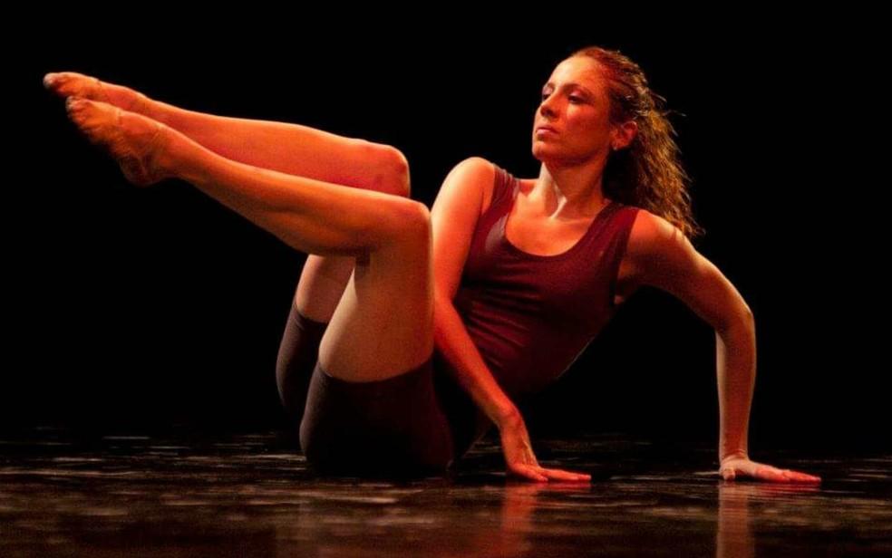 A bailarina brasiliense Juliana Pahl, de 39 anos  — Foto: Arquivo pessoal