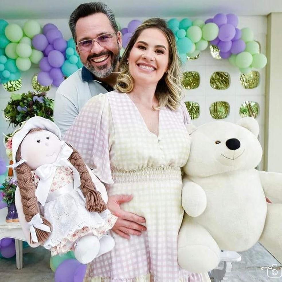 Michele de Araújo Miranda está internada desde quarta-feira (10) com pneumonia e Covid-19 — Foto: Arquivo da família