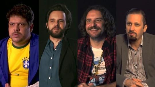 'Choque de Cultura Show': pilotos entrevistam estrelas do cinema nas chamadas do programa