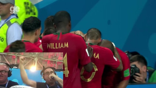 Narrador viraliza com gol de CR7 e torce por Portugal x Brasil na final; vídeo