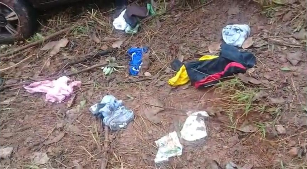 Acidente automobilístico mata um homem e fere três crianças no DF — Foto: CBMDF/ Divulgação