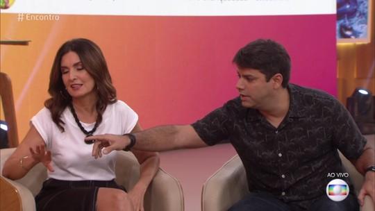 Fátima Bernardes explica anel na mão direita