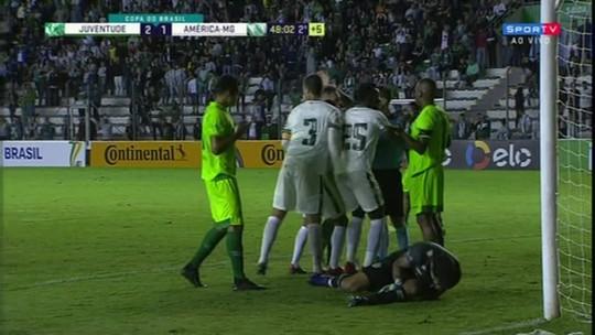 Árbitro que invalidou gol do América-MG na Copa do Brasil apita Mundão x Pantera