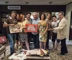 Daniel Filho grava participação em 'A grande família' |  TV Globo/ Ellen Soares