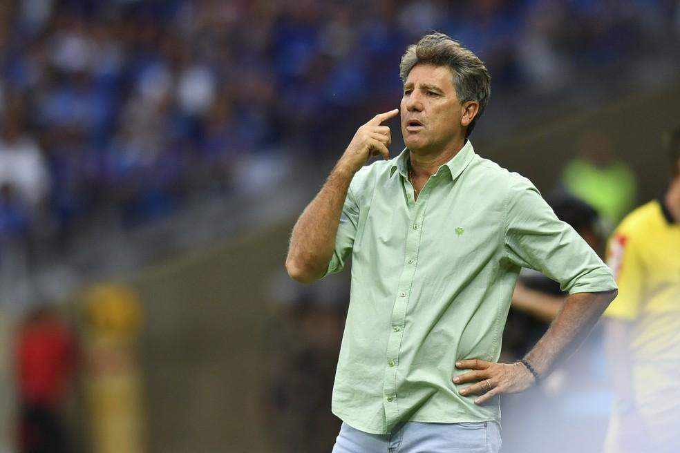 Renato diz que seu time continua encantando o Brasil (Foto: LEO FONTES/O TEMPO/ESTADÃO CONTEÚDO)