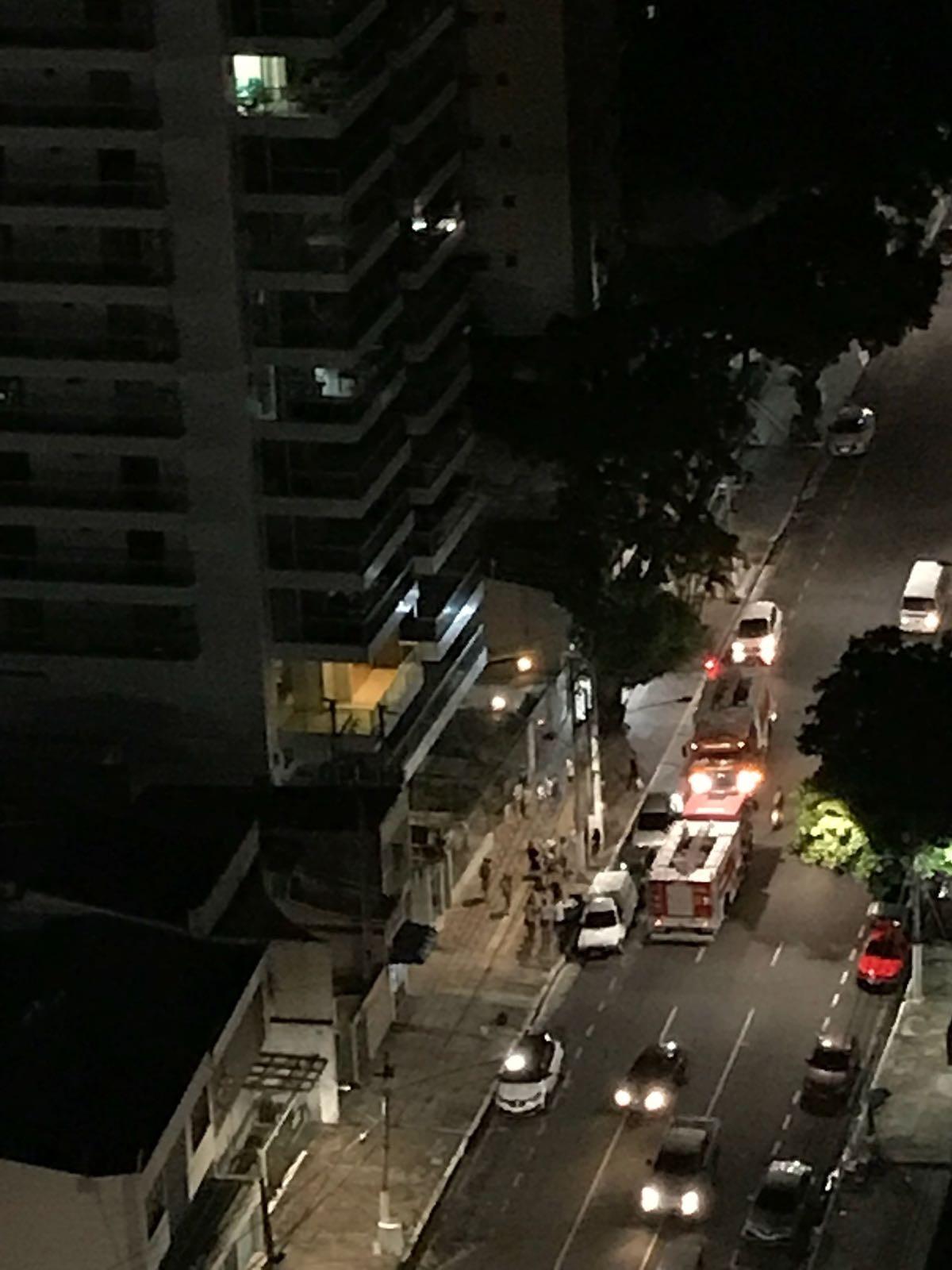 Principio de incêndio no 16º andar de prédio assusta moradores em Belém