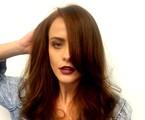 Juliana Silveira pinta cabelos de ruivo | Divulgação