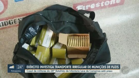 Exército determina abertura de inquérito para apurar furto de 1.397 munições de fuzil em Campinas