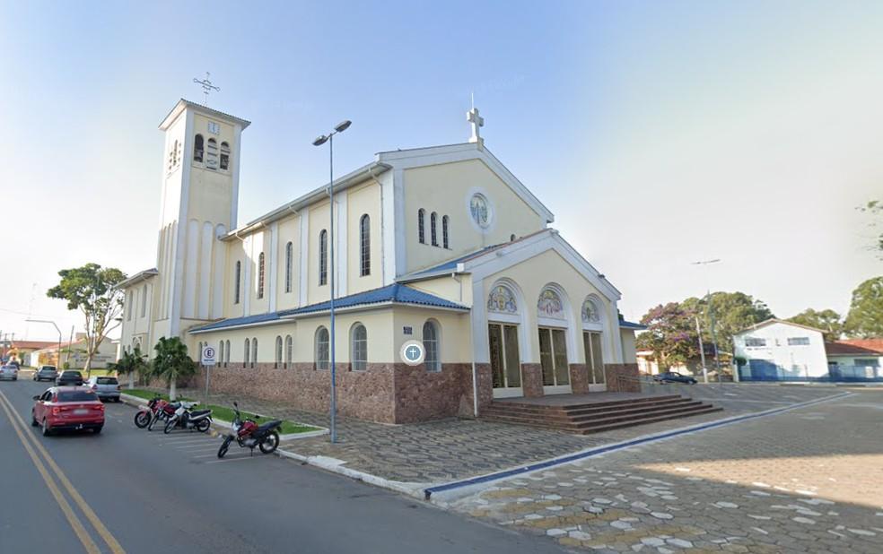 Santuário de Itapetininga tem almoço, bolo tradicional e missas no Dia de Nossa Senhora Aparecida — Foto: Google Maps/Reprodução