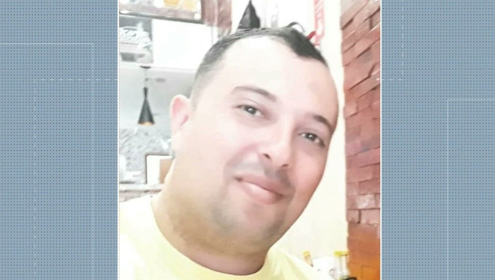 Cabo da Polícia Militar Emerson Thiago Soares de Lima, de 34 anos, foi morto após ser atingido por tiro acidental, em Campina Grande — Foto: TV Paraíba/Reprodução