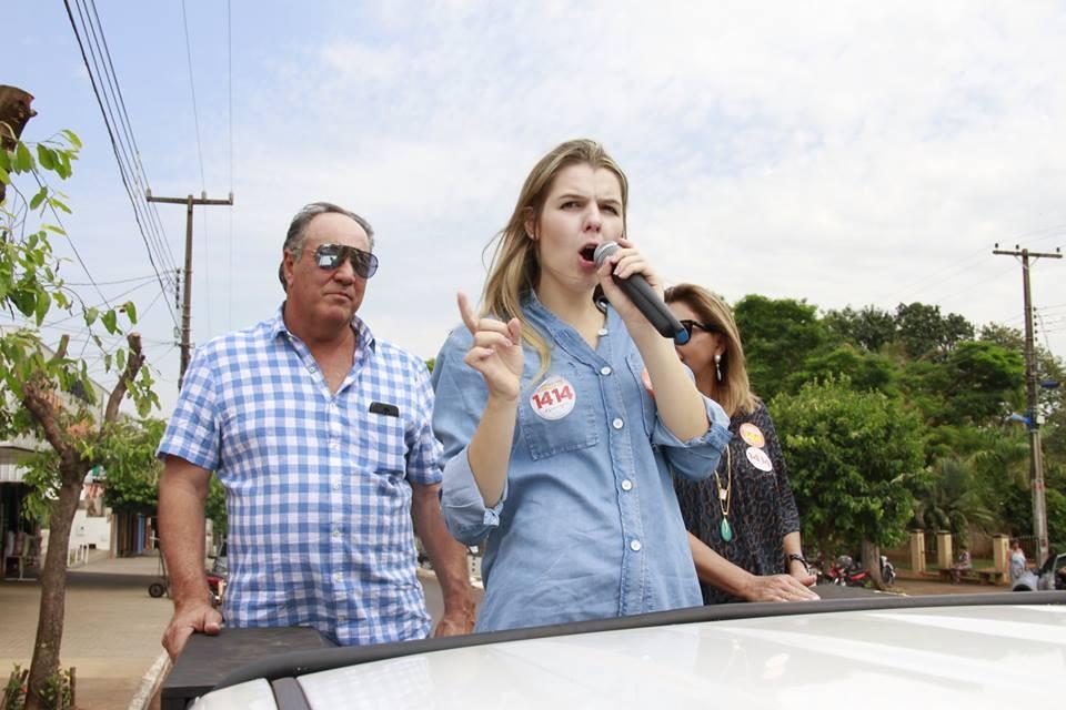 Luisa Canziani (PTB) foi eleita aos 22 anos