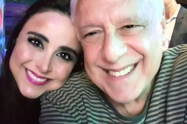 Alexandra Martins e Antonio Fagundes (Foto: Reprodução/Instagram)