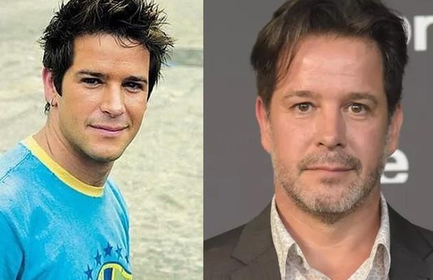 Murilo Benício interpretou três personagens: os gêmeos Diogo e Lucas, e o clone dos dois, Léo (na foto). O ator está escalado para 'Pantanal' (Foto: Reprodução)