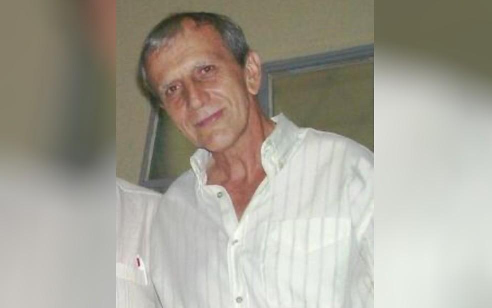 Walter Pereira, de 68 anos, morava sozinho e foi encontrado amarrado e com sinais de espancamento em Goiânia — Foto: Reprodução/TV Anhanguera