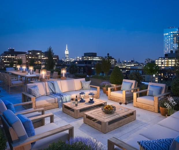 Apartamento de Gisele e Tom Brady em Nova York (Foto: Reprodução)